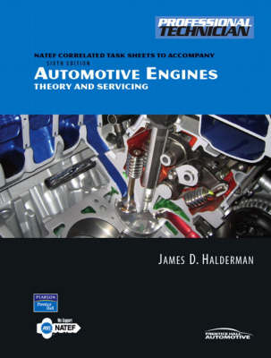 NATEF Correlated Task Sheets for Automotive Engines: Worktext: Theory and Servicing (Paperback)