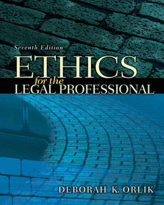 Ethics for the Legal Professional (Paperback)