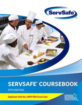 ServSafe Coursebook: with Online Exam Voucher Update : with 2009 FDA Food Code (Paperback)