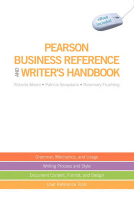 Pearson Business Reference and Writer's Handbook (with downloadable ebook access code) (Spiral bound)