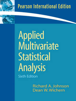 Applied Multivariate Statistical Analysis (Paperback)