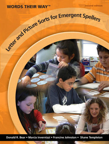 Words Their Way Letter and Picture Sorts for Emergent Spellers (Paperback)
