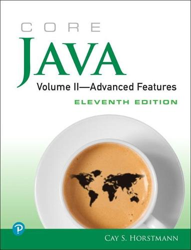 Core Java, Volume II--Advanced Features (Paperback)