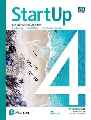 StartUp Student Book with app and MyEnglishLab, L4 (Paperback)