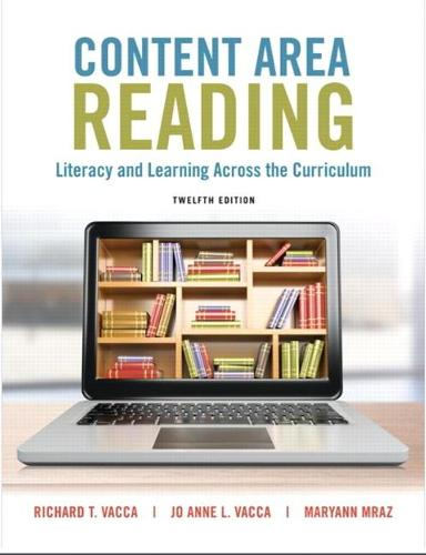 Content Area Reading: Literacy and Learning Across the Curriculum (Paperback)