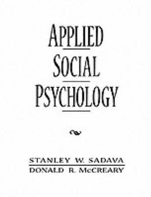 Applied Social Psychology (Paperback)