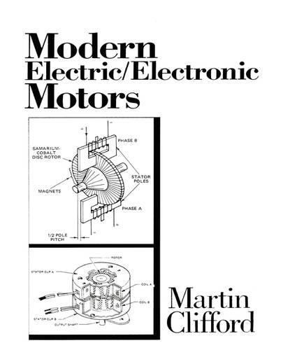 Modern Electric/Electronic Motors (Hardback)