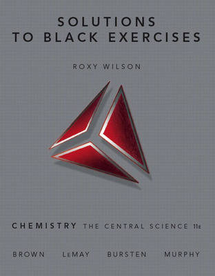 Chemistry: Solutions to Black Exercises: The Central Science (Paperback)