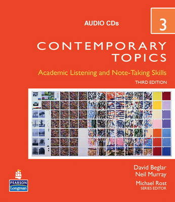 Contemporary Topics 3 Audio CDs (CD-Audio)