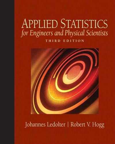 Applied Statistics for Engineers and Physical Scientists: United States Edition (Hardback)