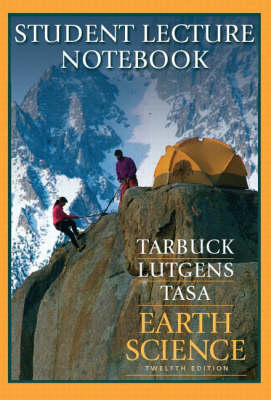 Earth Science: Student Lecture Notebook Student Lecture Notebook (Paperback)