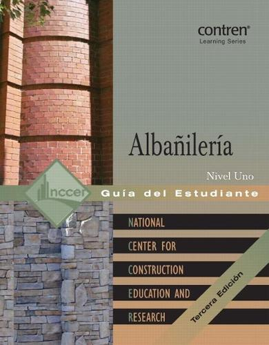 Masonry Level 1 Trainee Guide in Spanish (Paperback)
