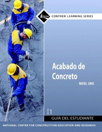 Concrete Finishing Level 1 Spanish Trainee Guide, Paperback (Paperback)