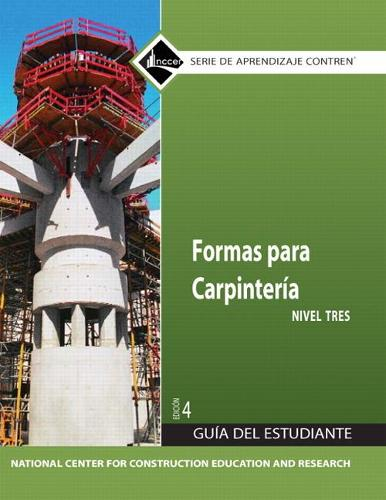 Carpentry Forms 3 Trainee Guide in Spanish (Paperback)