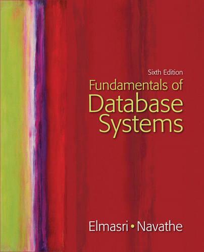 Fundamentals of Database Systems (Hardback)