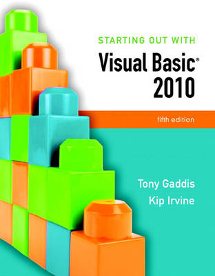 Starting Out with Visual Basic 2010 (Paperback)