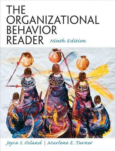 The Organizational Behavior Reader: United States Edition (Paperback)