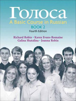 Golosa: Bk. 2: A Basic Course in Russian (Hardback)