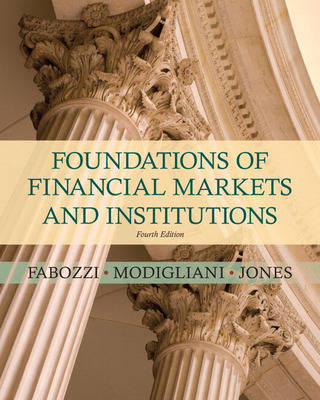 Foundations of Financial Markets and Institutions (Hardback)
