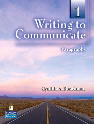 Writing to Communicate 1: Paragraphs (Paperback)