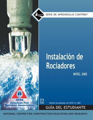 Sprinkler Fitter Spanish Level 1 Trainee Guide, Paperback, 1e (Paperback)