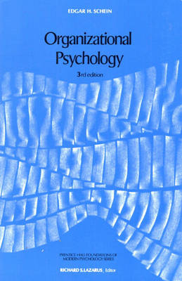 Organizational Psychology: United States Edition (Paperback)