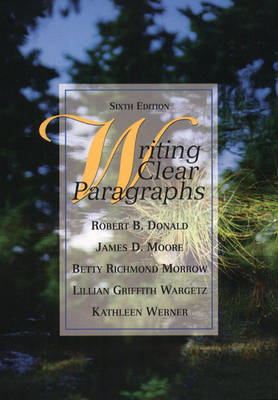 Writing Clear Paragraphs (Paperback)