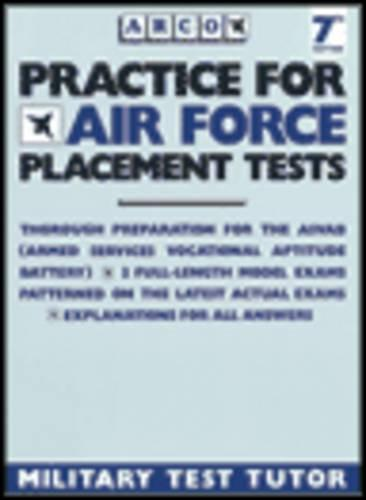 Practice for Air Force Placement Tests (Paperback)