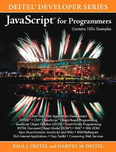 JavaScript for Programmers (Paperback)