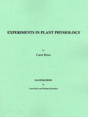 Experiments in Plant Physiology (Paperback)