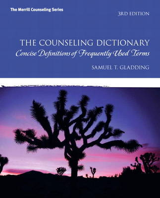 The Counseling Dictionary: Concise Definitions of Frequently Used Terms (Paperback)