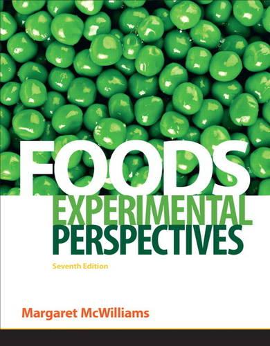 Foods: Experimental Perspectives (Hardback)