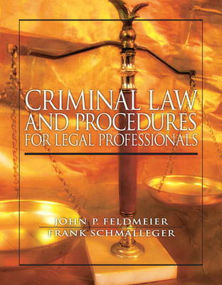 Criminal Law and Procedure for Legal Professionals (Paperback)