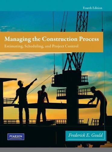 Managing the Construction Process (Hardback)