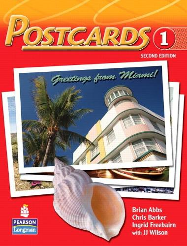 Postcards 1 with CD-ROM and Audio