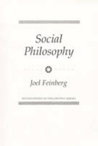Social Philosophy - Foundations of Philosophy (Paperback)