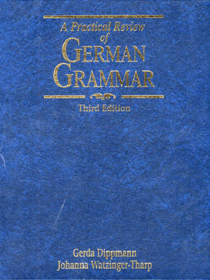A Practical Review of German Grammar (Hardback)