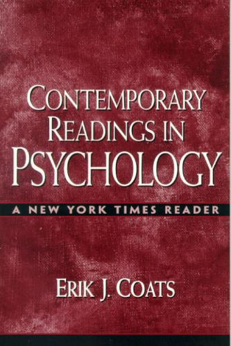 "Contemporary Readings in Psychology: A ""New York Times"" Reader (Paperback)"