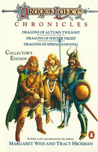 Dragonlance Chronicles: Dragons of Autumn Twilight, Dragons of Winter Night, Dragons of Spring Dawnin (Paperback)