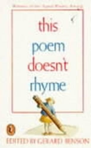 This Poem Doesn't Rhyme (Paperback)