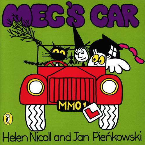 Meg's Car - Meg and Mog (Spiral bound)