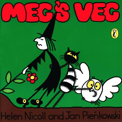 Meg's Veg - Meg and Mog (Spiral bound)
