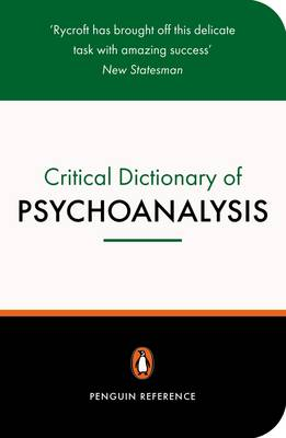 A Critical Dictionary of Psychoanalysis (Paperback)