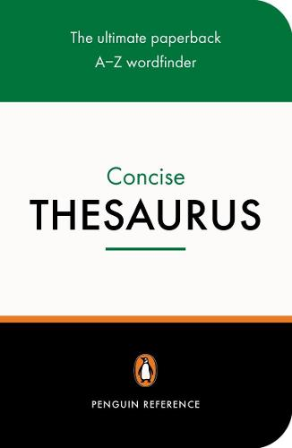The Penguin Concise Thesaurus (Paperback)