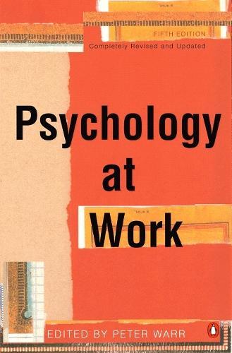 Psychology at Work (Paperback)