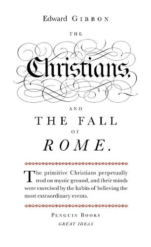 The Christians and the Fall of Rome - Penguin Great Ideas (Paperback)