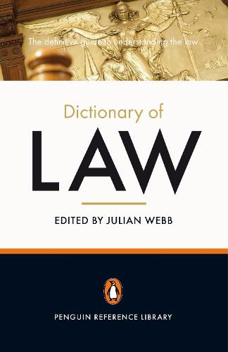 The Penguin Dictionary of Law (Paperback)