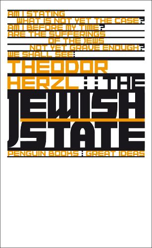 The Jewish State - Penguin Great Ideas (Paperback)