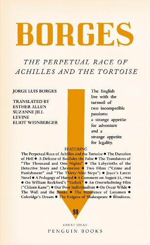 The Perpetual Race of Achilles and the Tortoise - Penguin Great Ideas (Paperback)