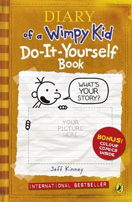 Diary of a wimpy kid do it yourself book by jeff kinney waterstones diary of a wimpy kid do it yourself book diary of a solutioingenieria Images
